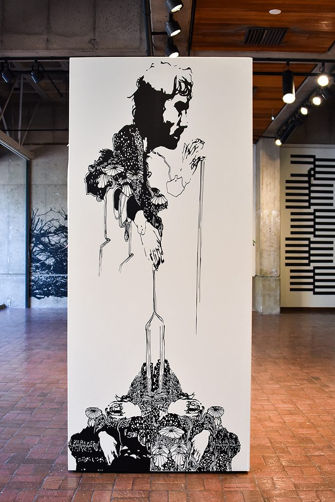 Drawing Installation: Alexis Rausch