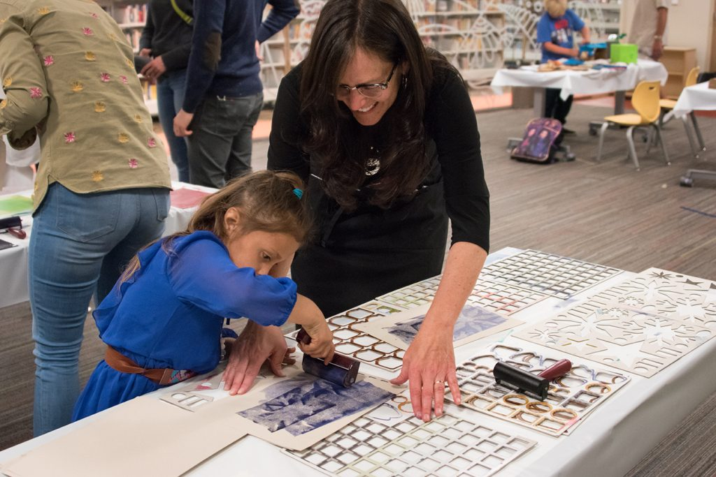 Utah Museum of Fine Arts ACME event at the Glendale Public Library