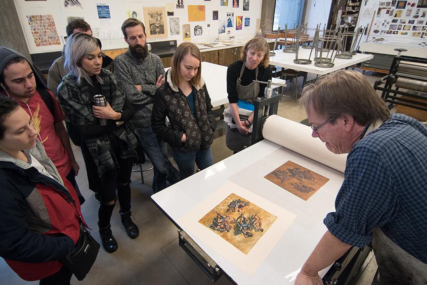 Visiting Artist Art Werger