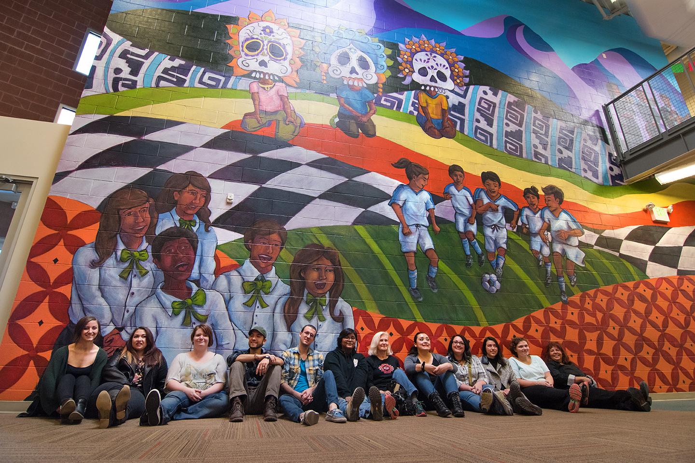 """Lenguaje de Esperanza"" (Language of Hope), Esperanza Elementary, 4956 West 3500 South, West Valley City, UT"