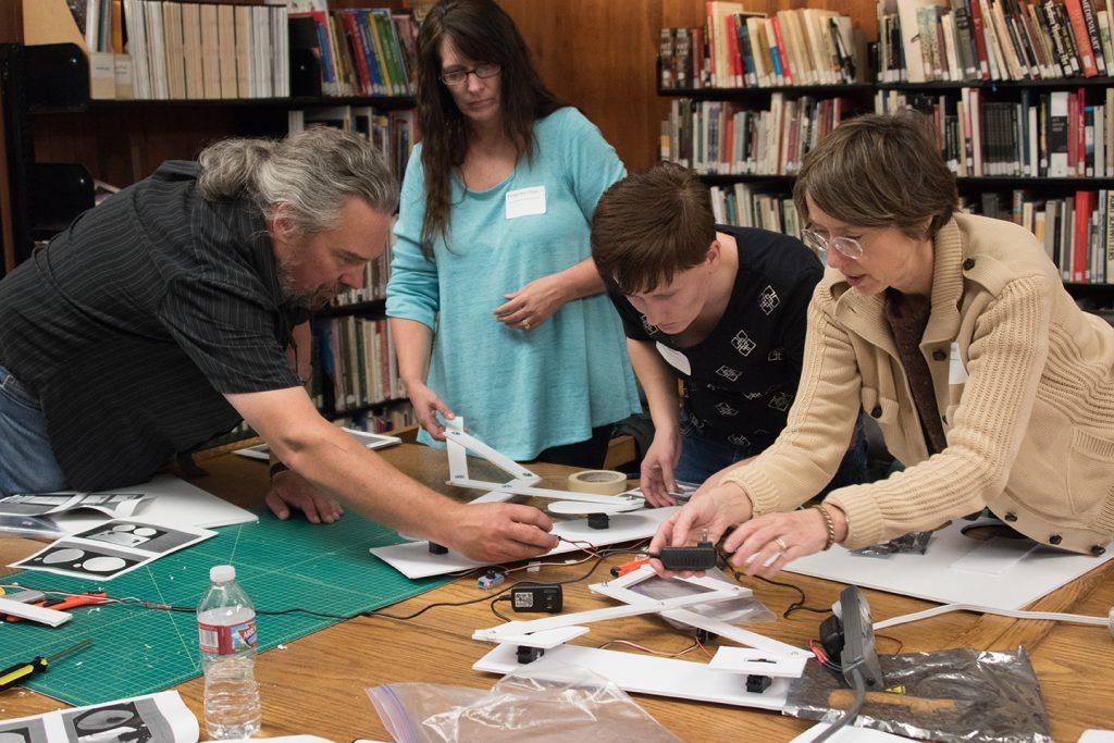 Drawbot Workshop with Eric Brunvand