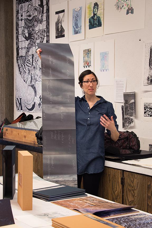 Visiting Artist Nicole Pietrantoni