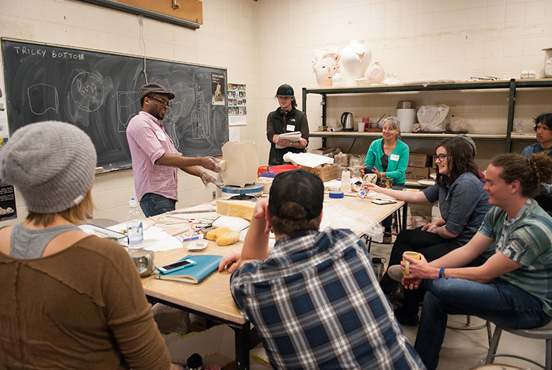 Workshop with Kevin Snipes