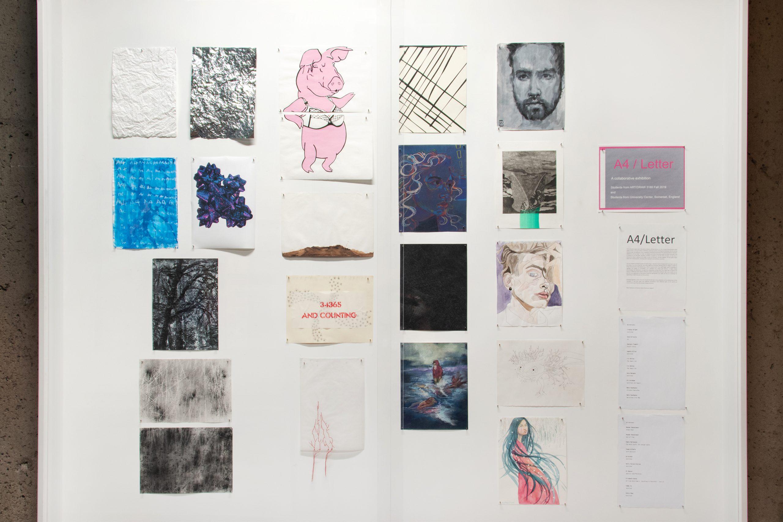 A4 Letter Exhibition