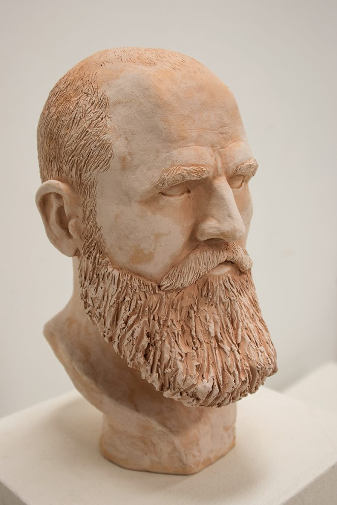 Figure Sculpture, Fall 2017: Jake Peterson