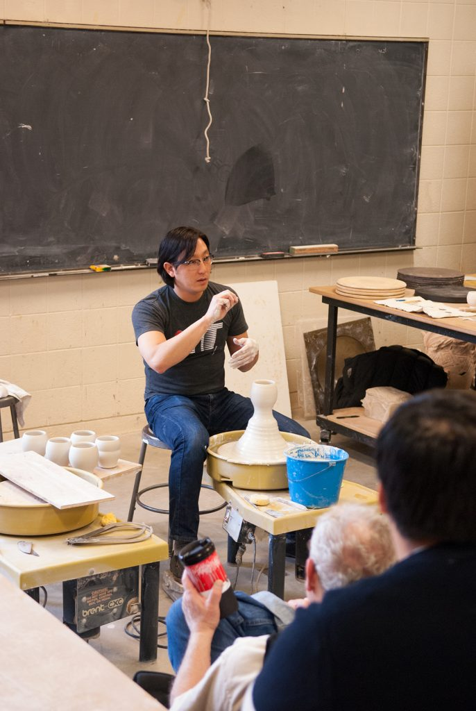 Workshop with Steven Young Lee