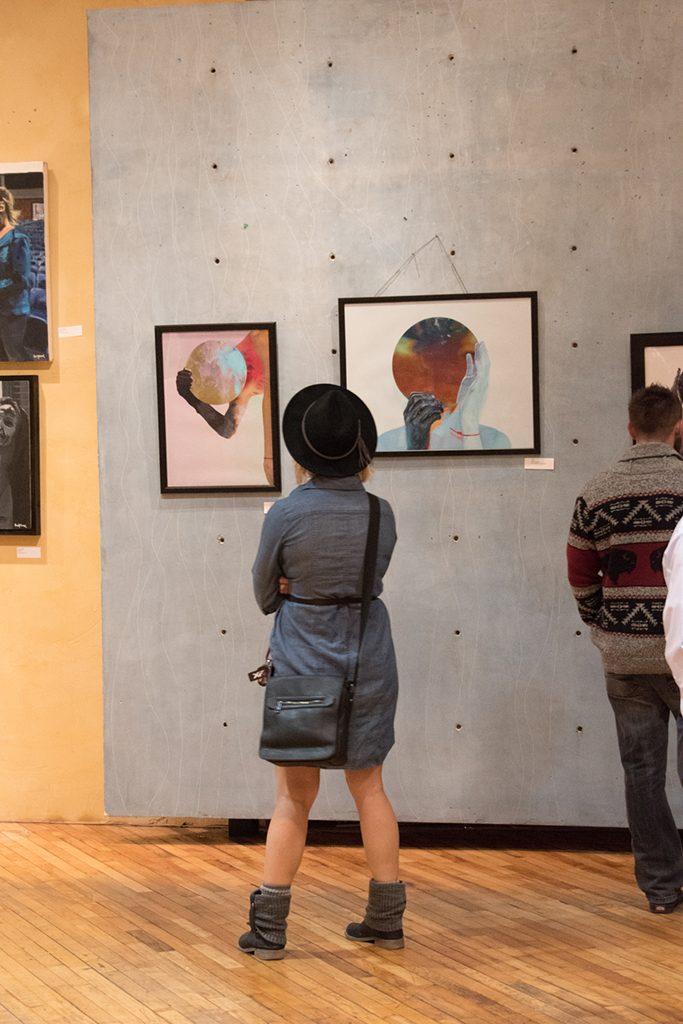 Embark Exhibition, April 2017. Artwork: Trajan