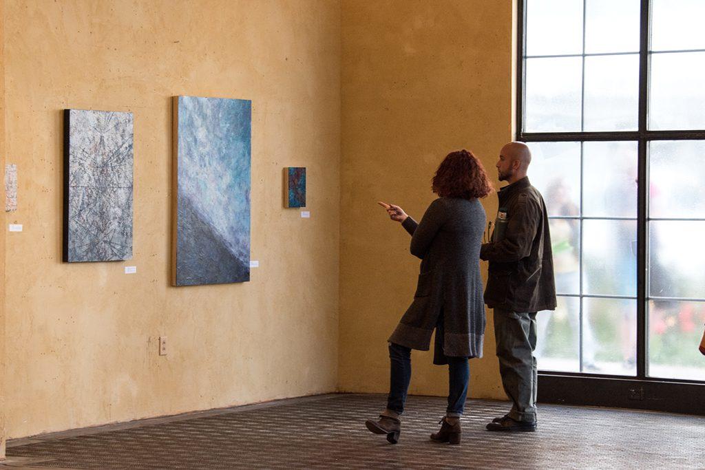 Embark Exhibition, April 2017. Artwork: Lya Yang