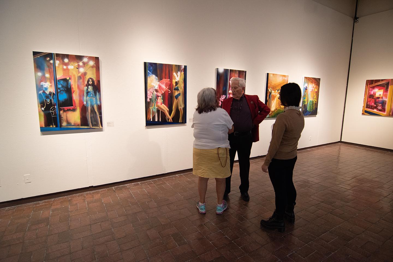 Howard Clark Scholarship Exhibition, Fall 2019; artwork: Alyssa Hood