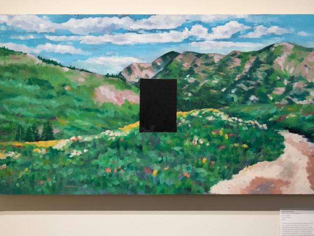 Taft Nicholson Exhibition: In Plein Site, 2019 Artwork by Emily Mortensen