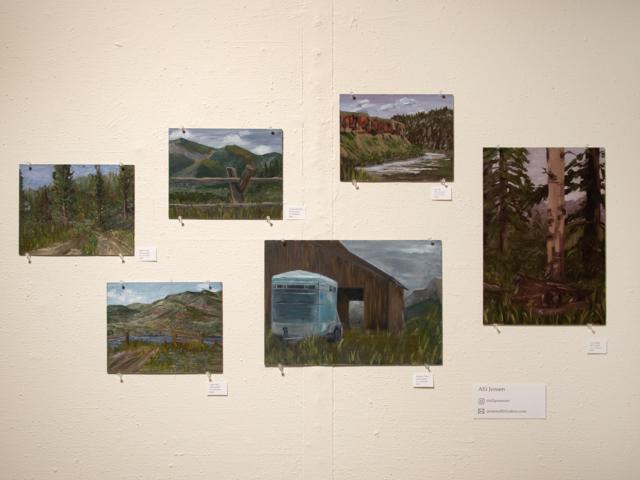 Taft Nicholson Exhibition: In Plein Site, 2019 Artwork by Alli Jensen