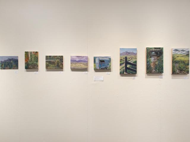 Taft Nicholson Exhibition: In Plein Site, 2019 Artwork by Hannah Christensen