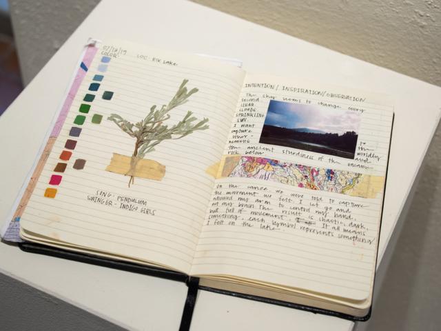 Taft Nicholson Exhibition: In Plein Site, 2019 Artist Sketchbook by Emily Mortensen