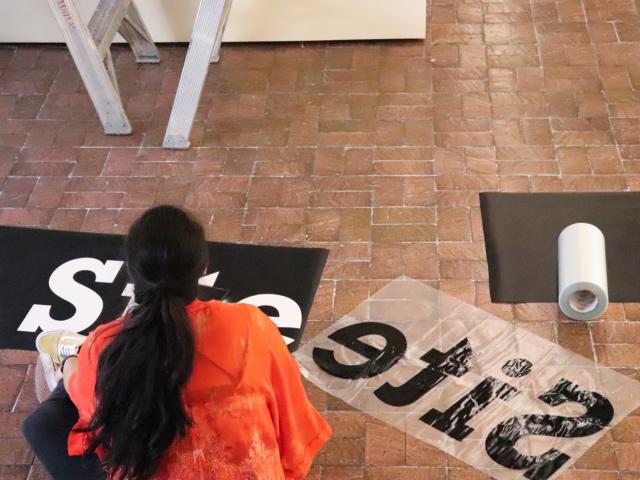 Taft Nicholson Installation 2019