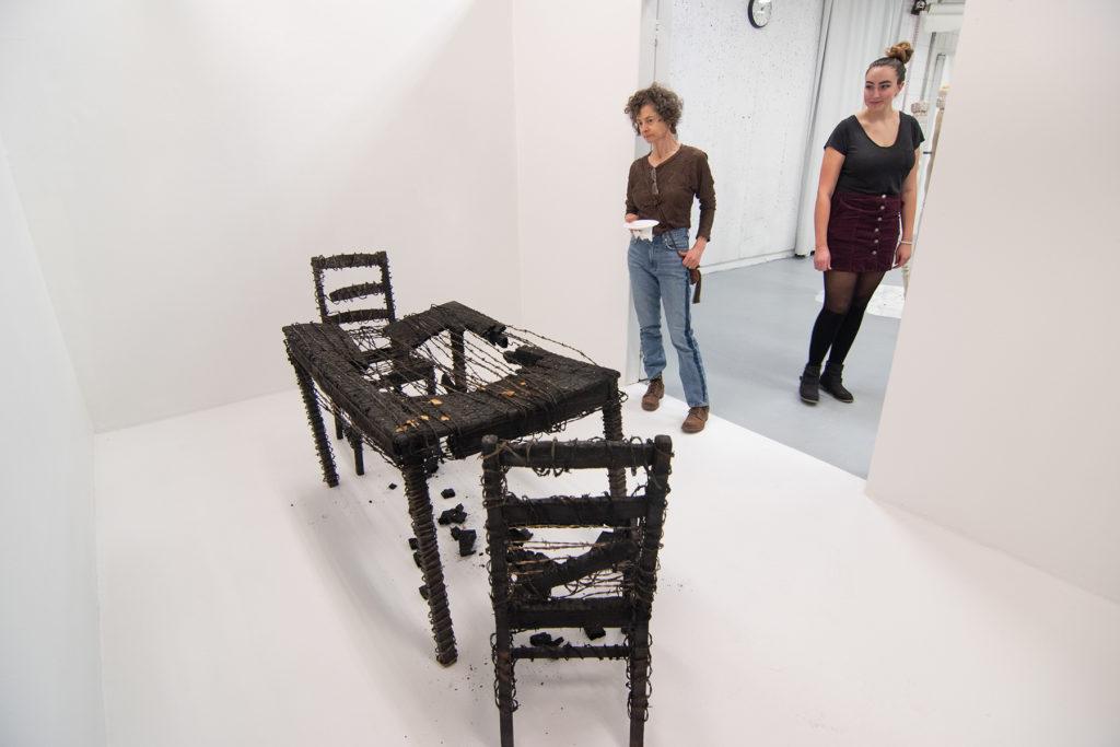 This Is Not A Furniture Show, 2019, artwork: Alec Bang and Doug Tolman