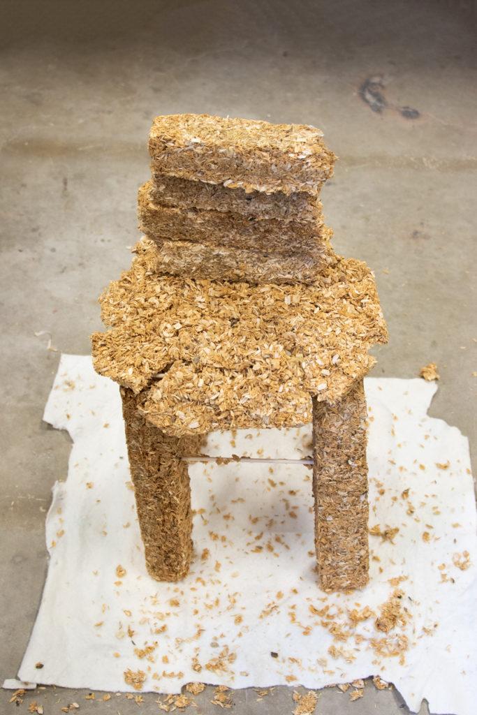 This Is Not A Furniture Show Exhibition; artwork by Eden Merkley