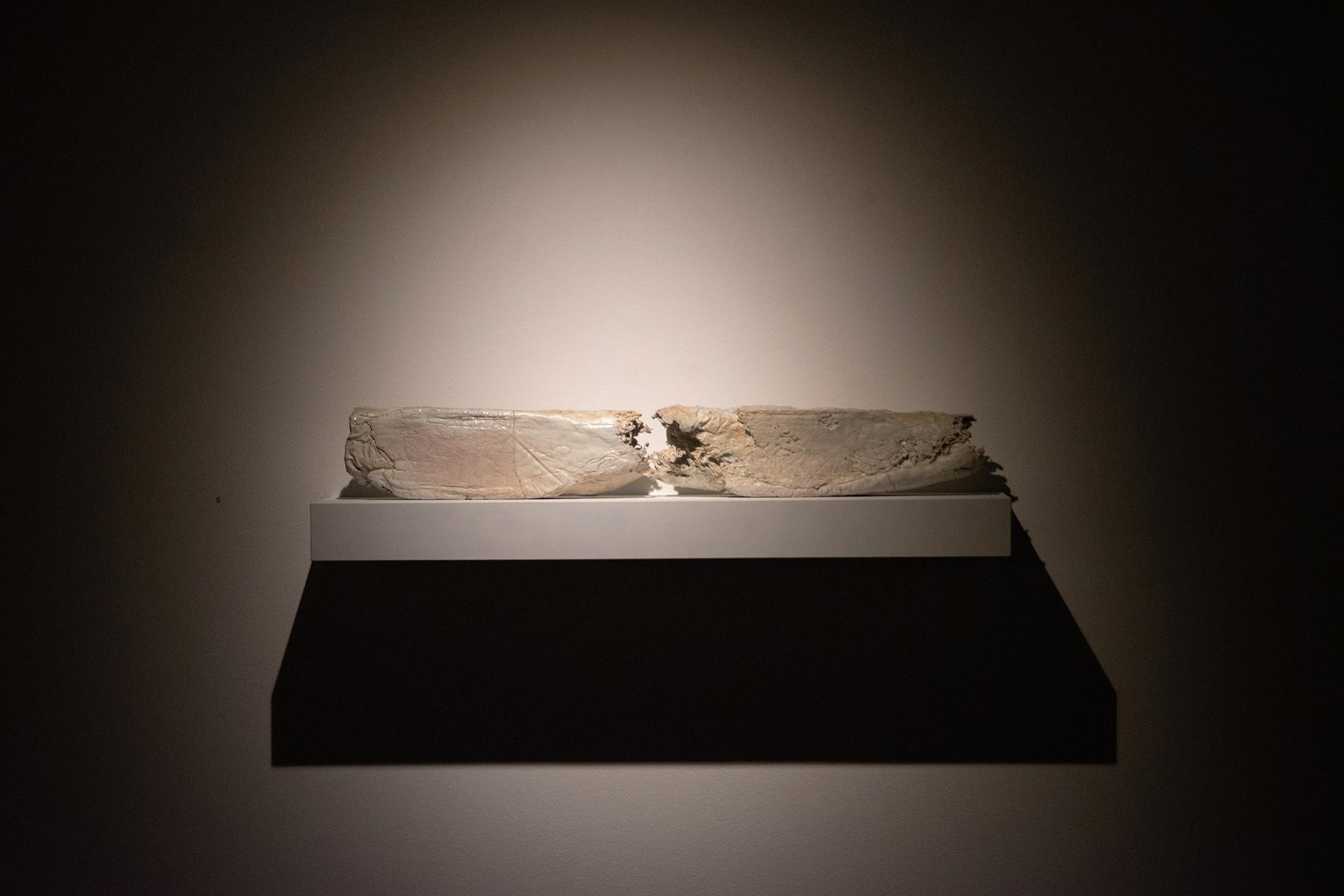 Visiting Artist Brad Taylor with Ceramics students at Utah Museum of Contemporary Art, September 2020