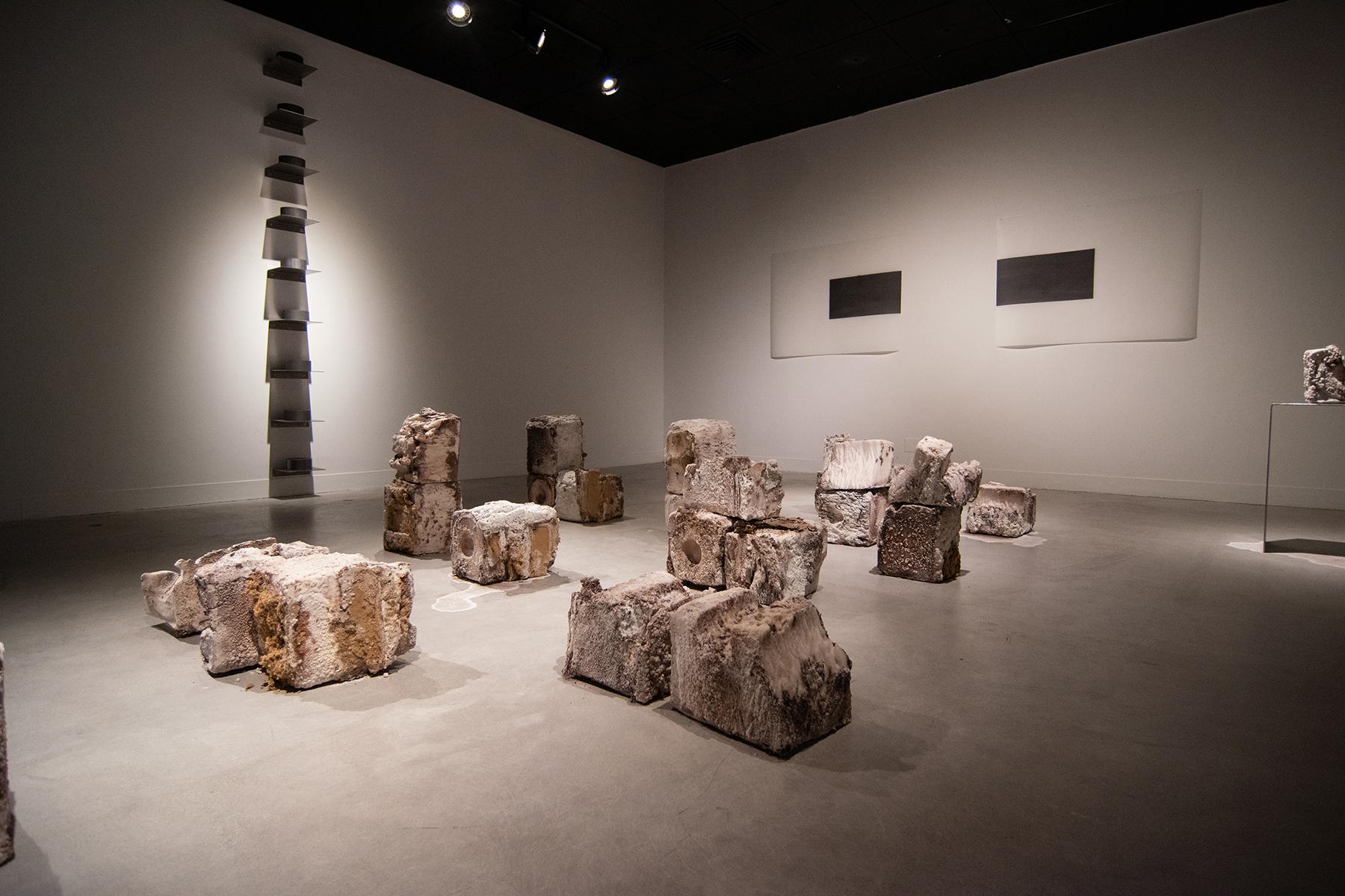 Colour Maisch & Gary Vlasic exhibition at Utah Museum of Contemporary Art, September 2020