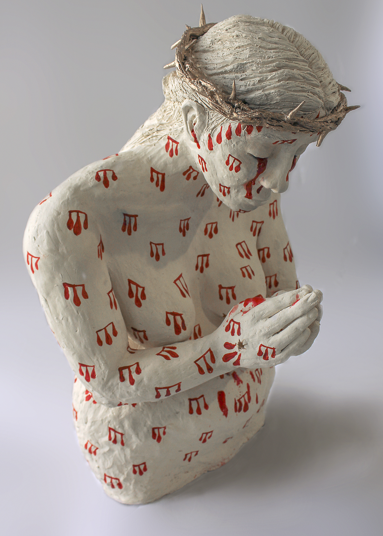 """From Dust You Came - Sydney Porter Williams, 2019, ceramic, 30 x 12 x 7"""""""