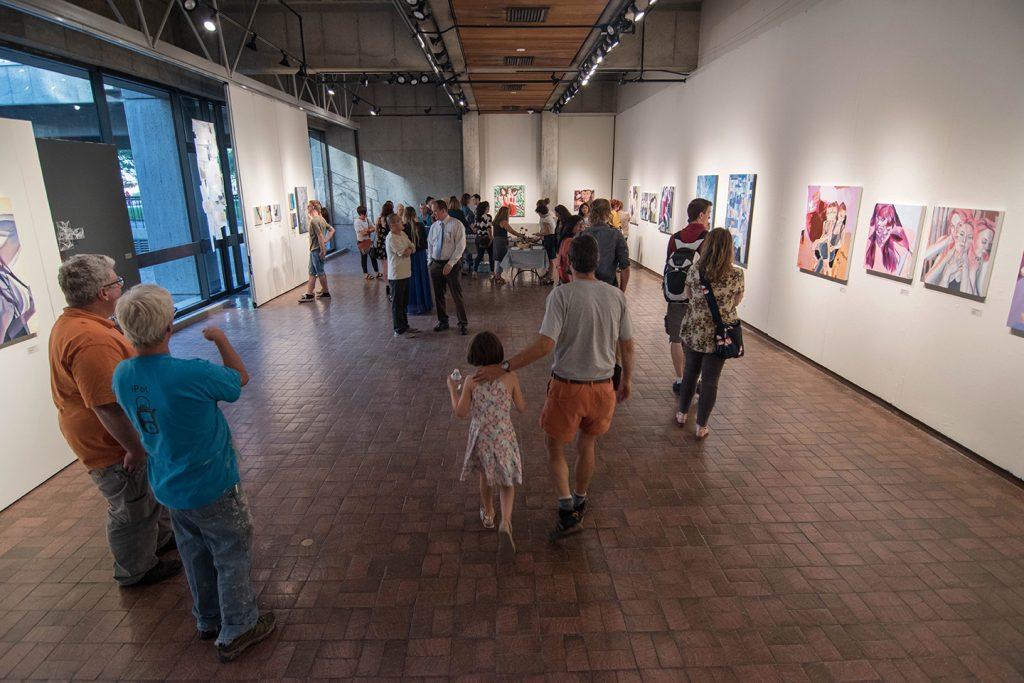 Howard Clark Scholarship Exhibition, 2017: Jocelyn Rindlesbach and Lya Yang
