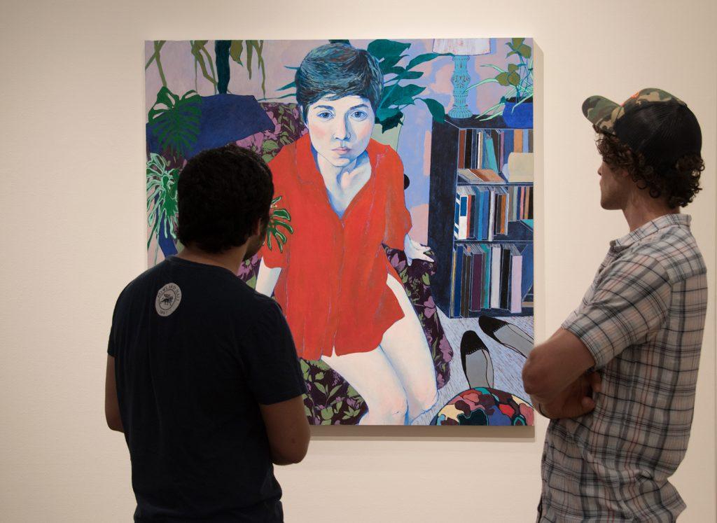 """Howard Clark Scholarship Exhibition, 2018, Gittins Gallery - """"Julie Anne"""""""", Abigail Mitchell"""