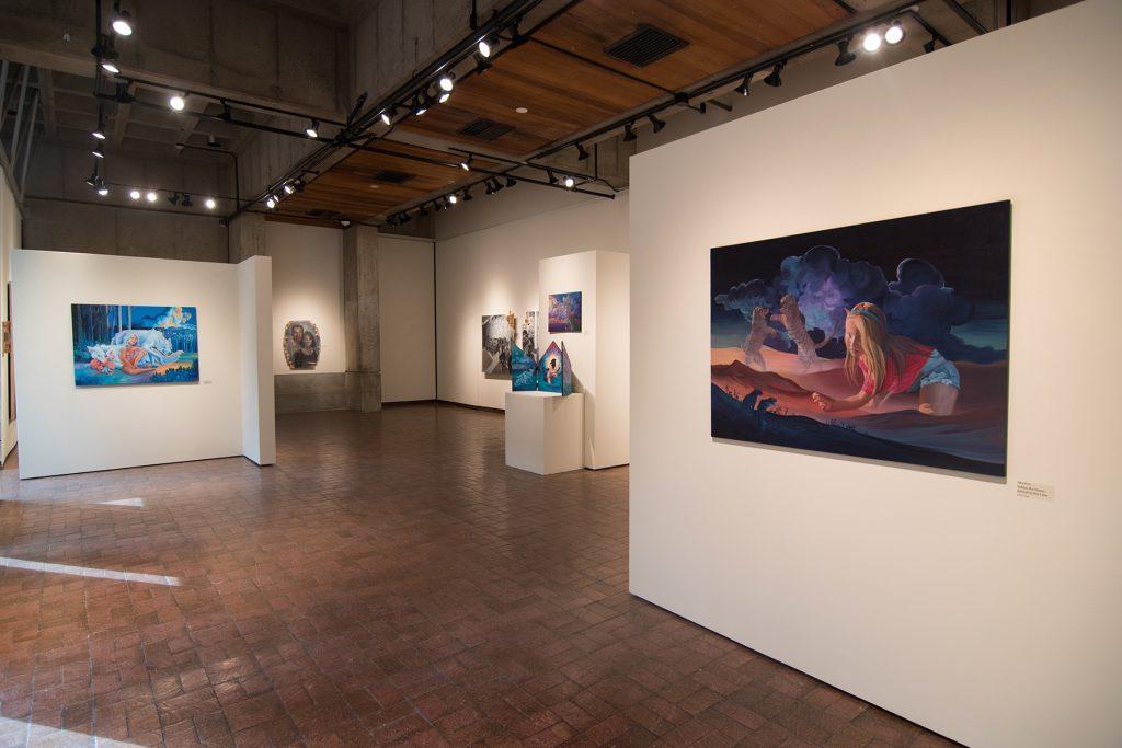 Howard Clark Scholarship Exhibition, 2018, Gittins Gallery