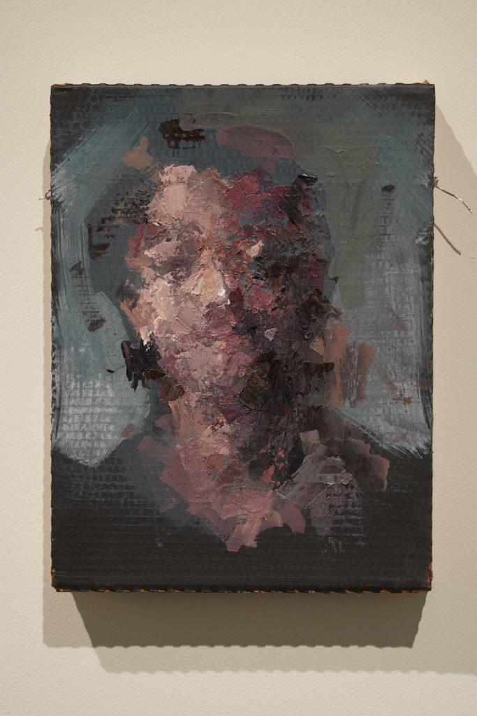 "Howard Clark Scholarship Exhibition, 2018, Gittins Gallery - ""Derivative 11"", Mitchell Lee, 2018, mixed media"