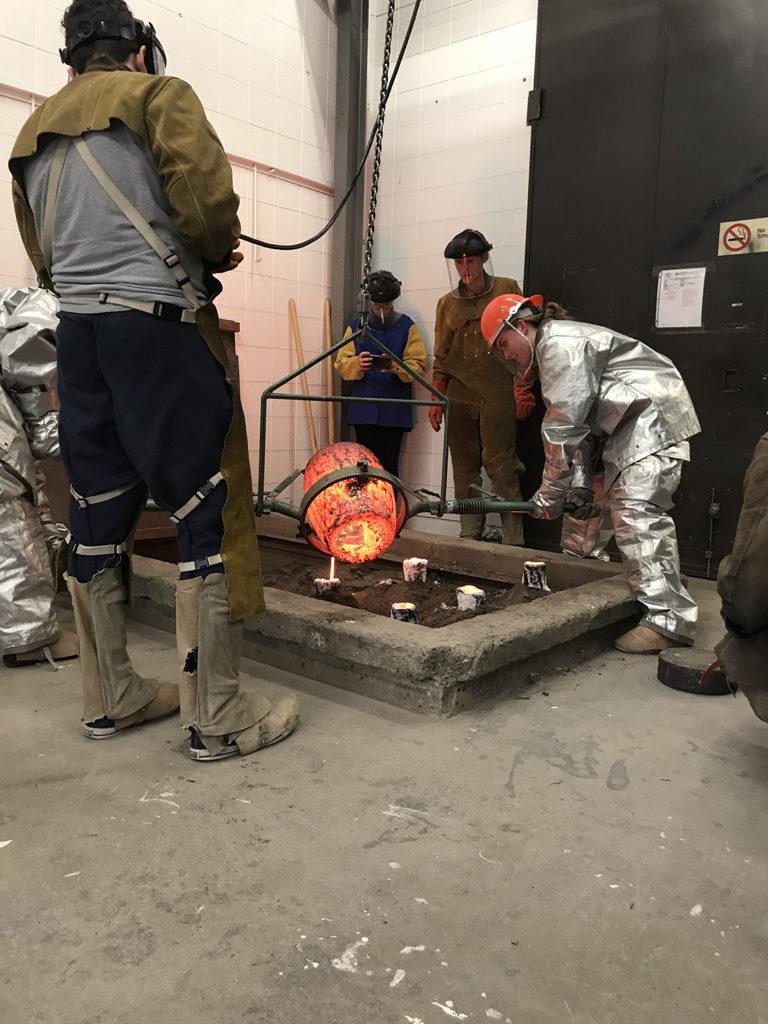 Sculpture Process Photo