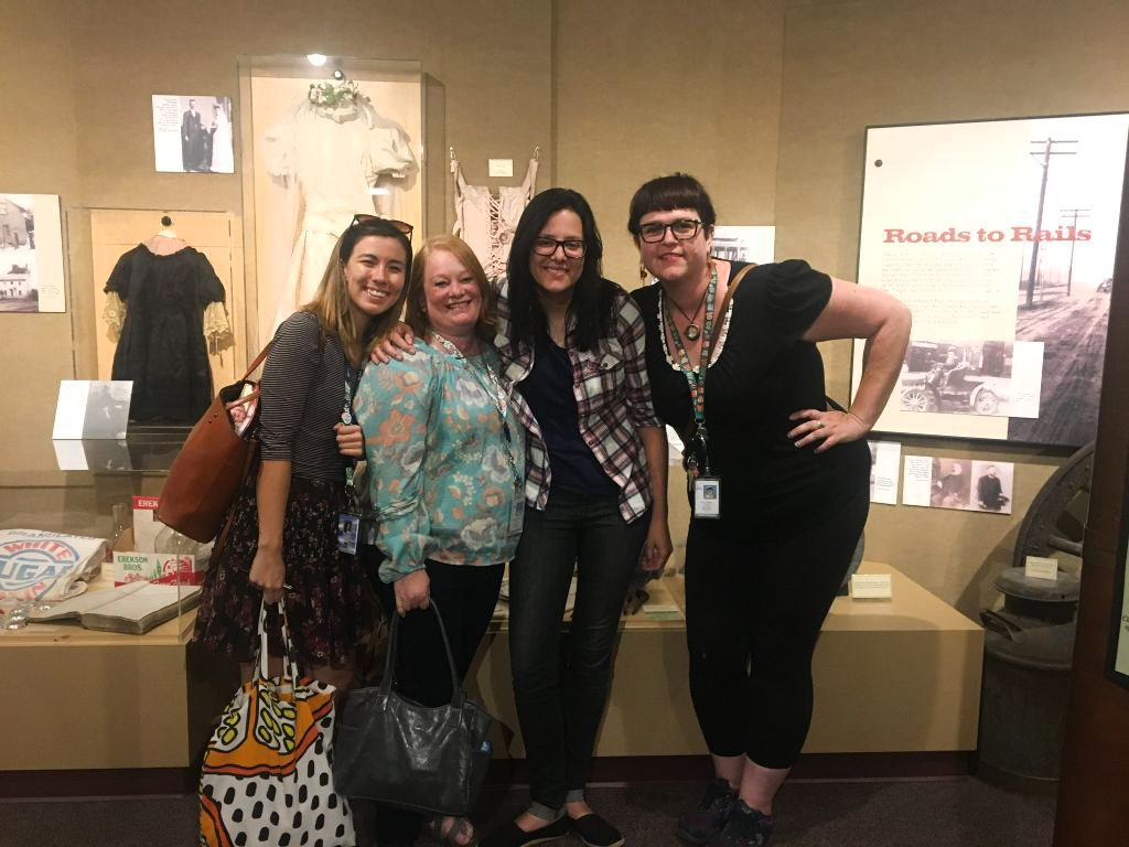 BTSALP Visual Art specialists at the Murray Museum