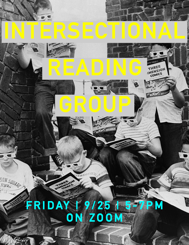 Intersectional Reading Group flyer