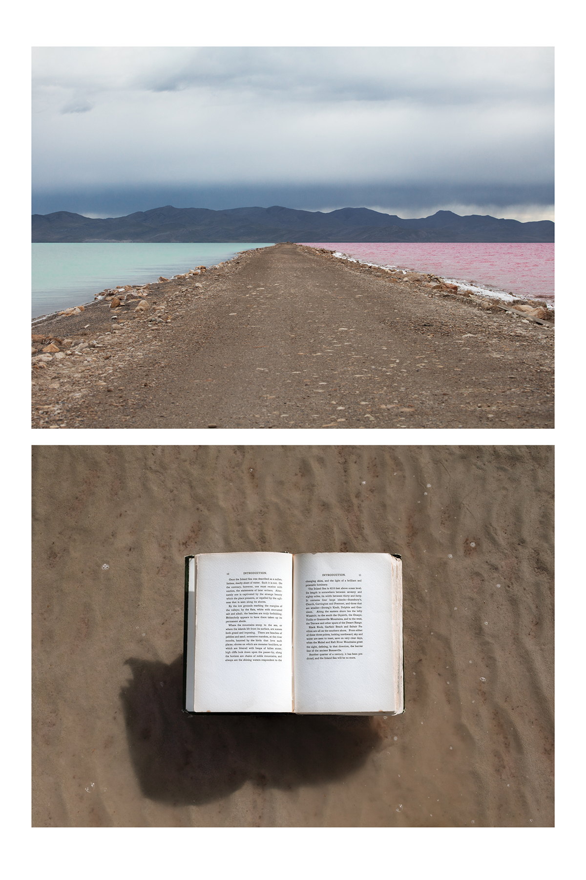 "Inland Sea - Doug Tolman, 2019, inkjet print, 26 x 40"""