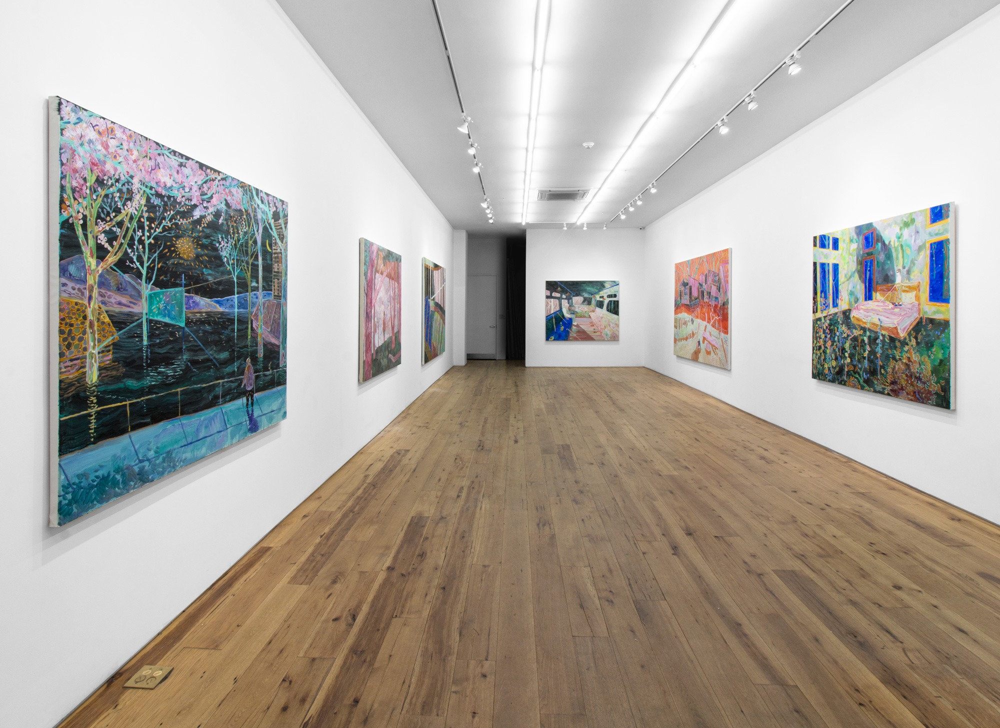 Xi Zhang Exhibition at Marc Straus Gallery 2018