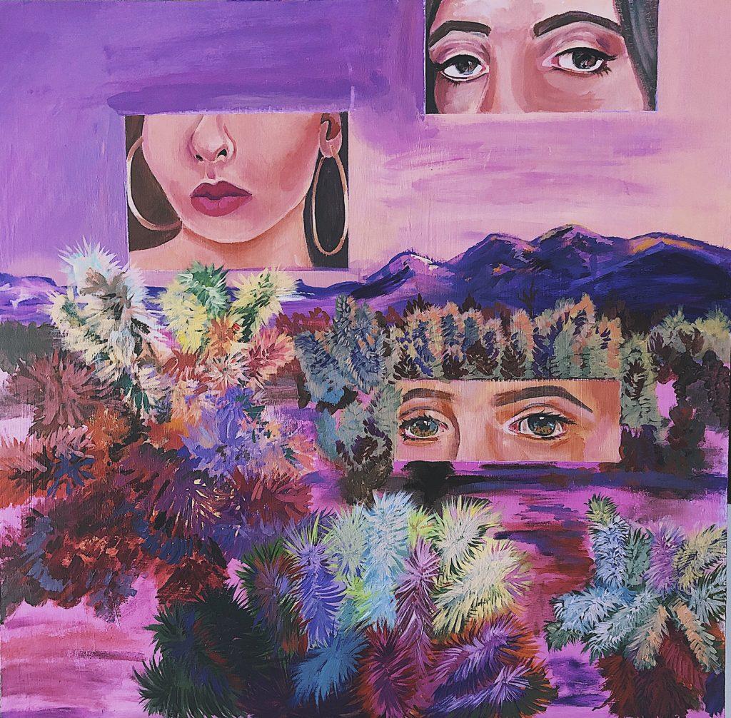 "Mi Herma Lili, Victoria Dennis, Acrylic Paint on Canvas, 24x24"""