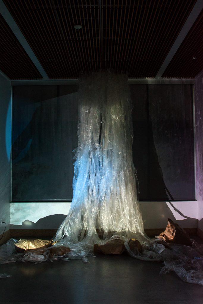 Making Waves Exhibition, artwork by Alec Bang and Dana Hansen