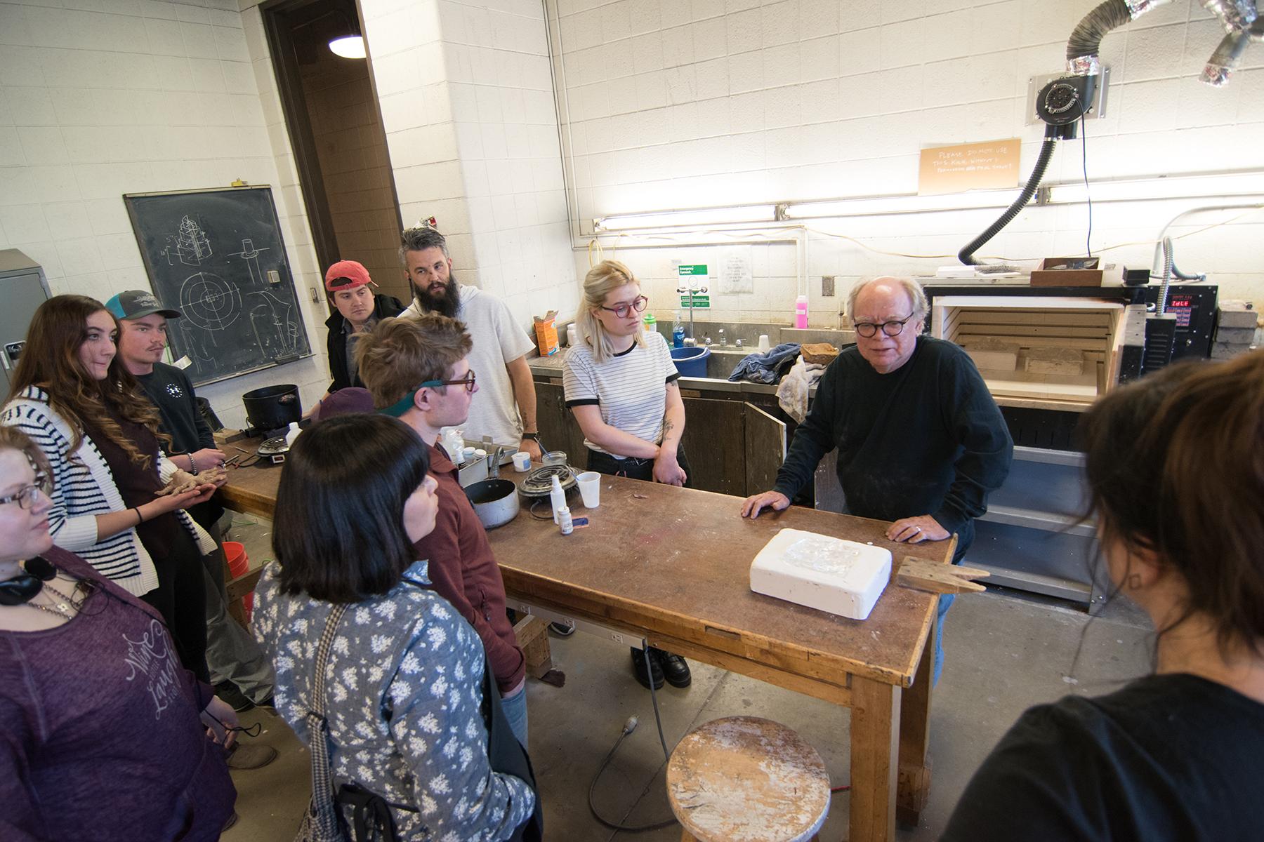 Mark Anderson Glass Workshop