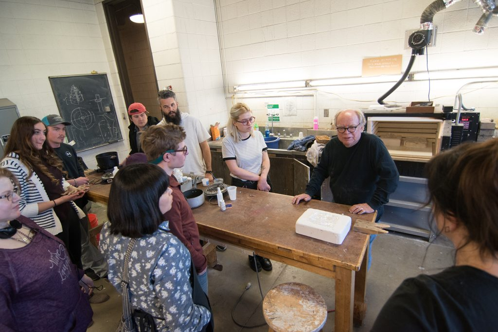 Glass Casting Workshop with visiting artist Mark Anderson