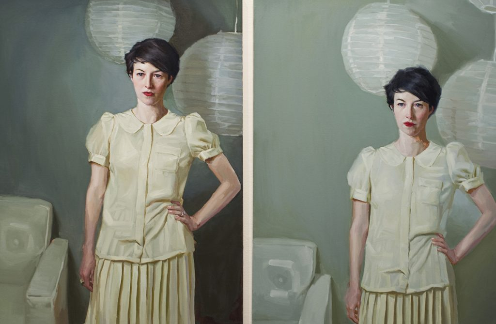 Comparison Diptych, Mary Sauer