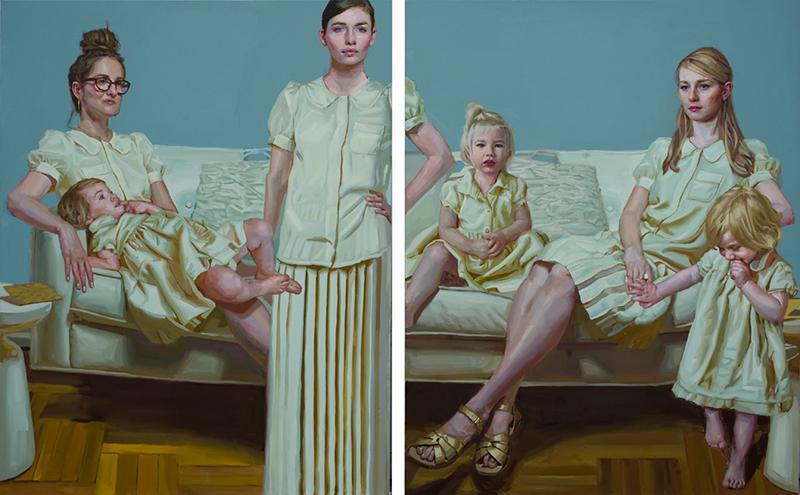 Contemporary Motherhood, Mary Sauer