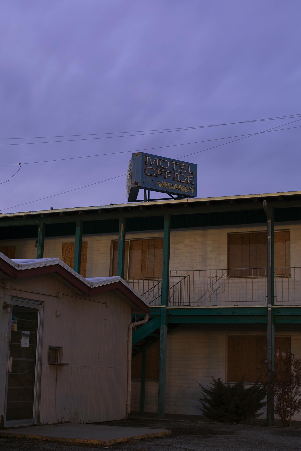 "Motel - Araceli Haslam, inkjet print, 12.6 x 19"""