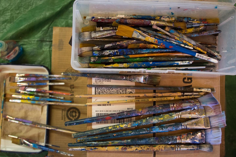 Murals Paintbrushes