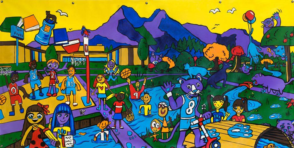 We Are Murray Murals, Fall 2018: Twin Peaks Elementary School