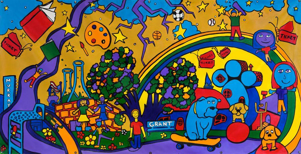 We Are Murray Murals, Fall 2018: Grant Elementary School