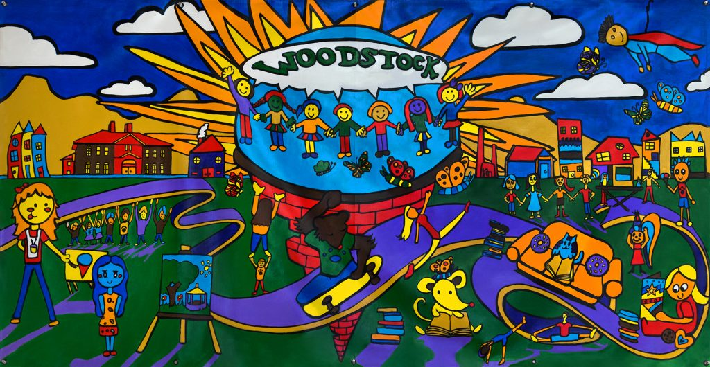 We Are Murray Murals, Fall 2018: Woodstock Elementary School
