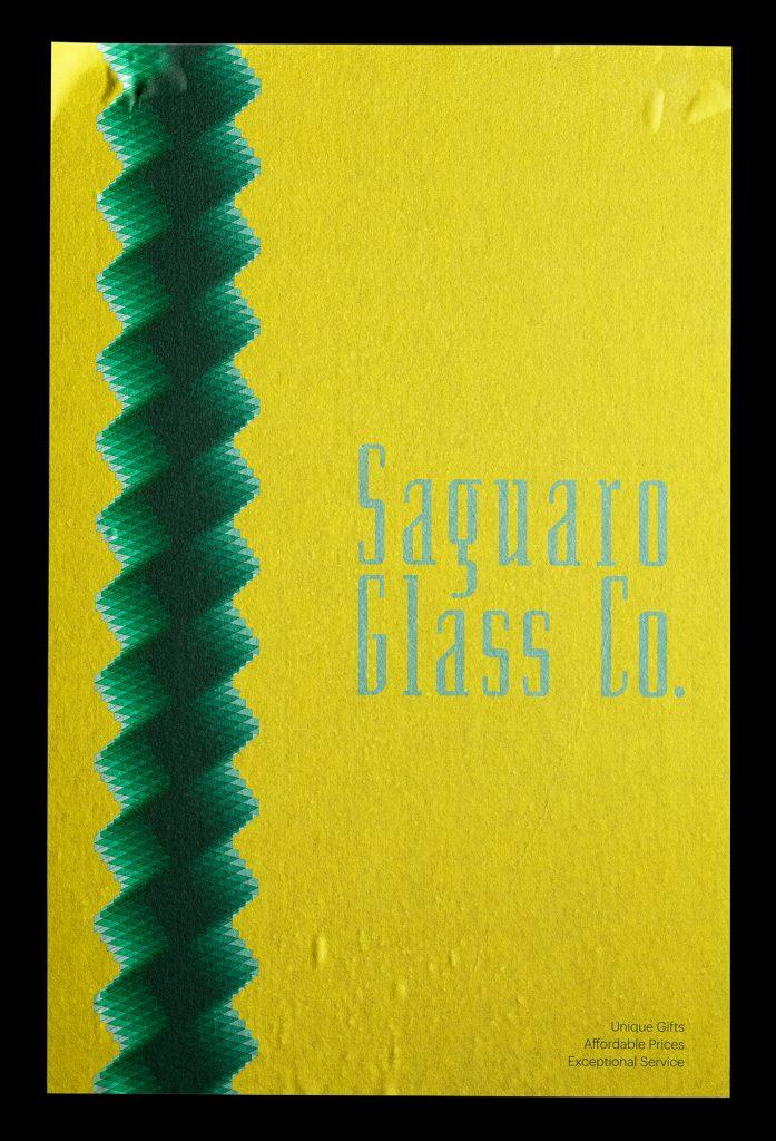 Saguaro Glass Co., Jesse Smith, 2020, Identity