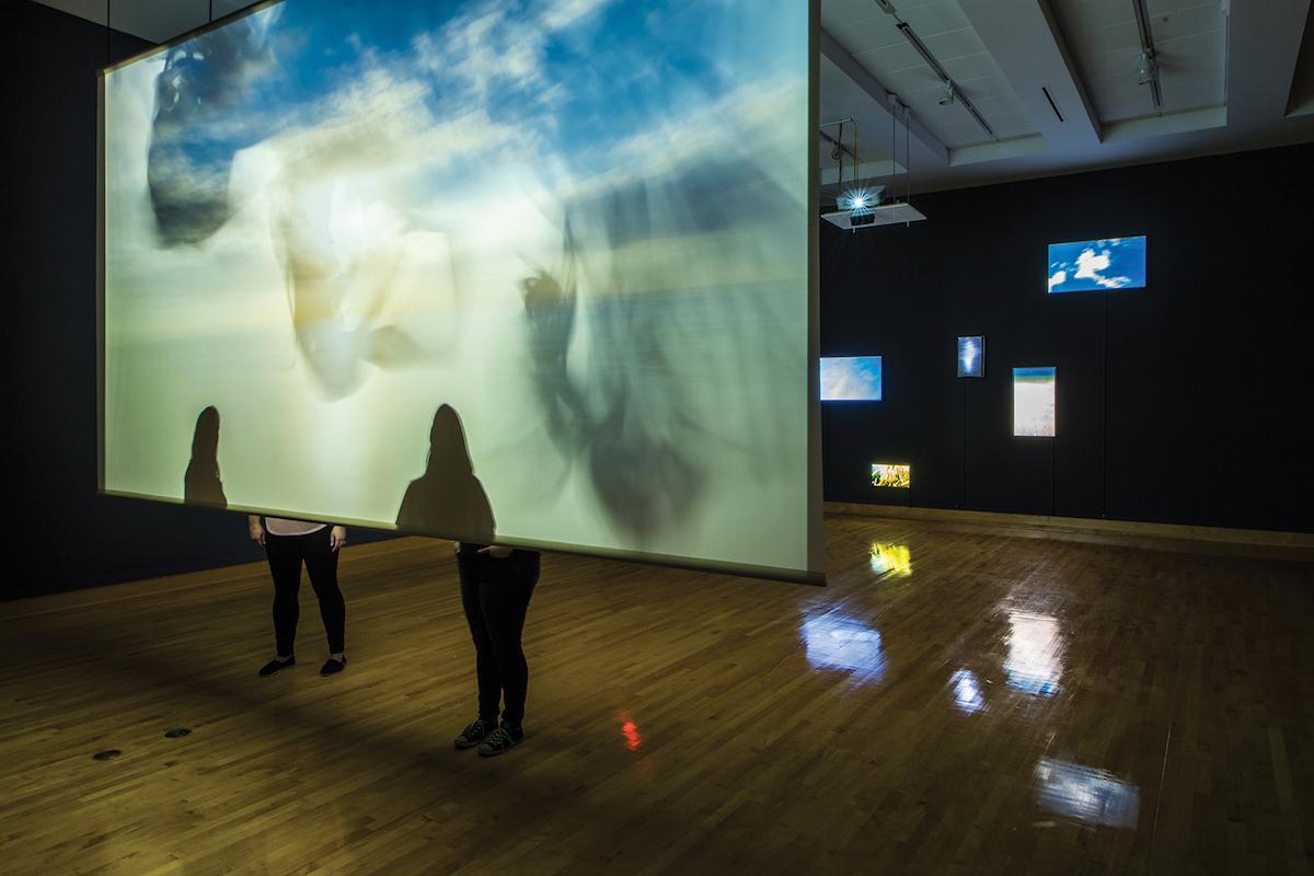 Parallel Journeys installation Wendy Wischer