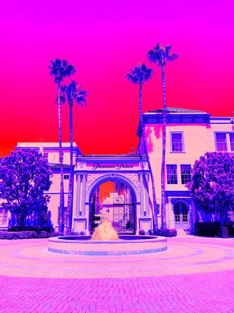Paramount Pictures, Hollywood California - Natalie Hopes