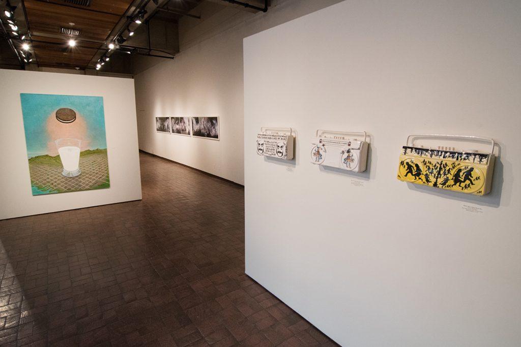 Phase II Exhibition, March 2017: Kent Christensen, Van Chu, Horacio Rodriguez
