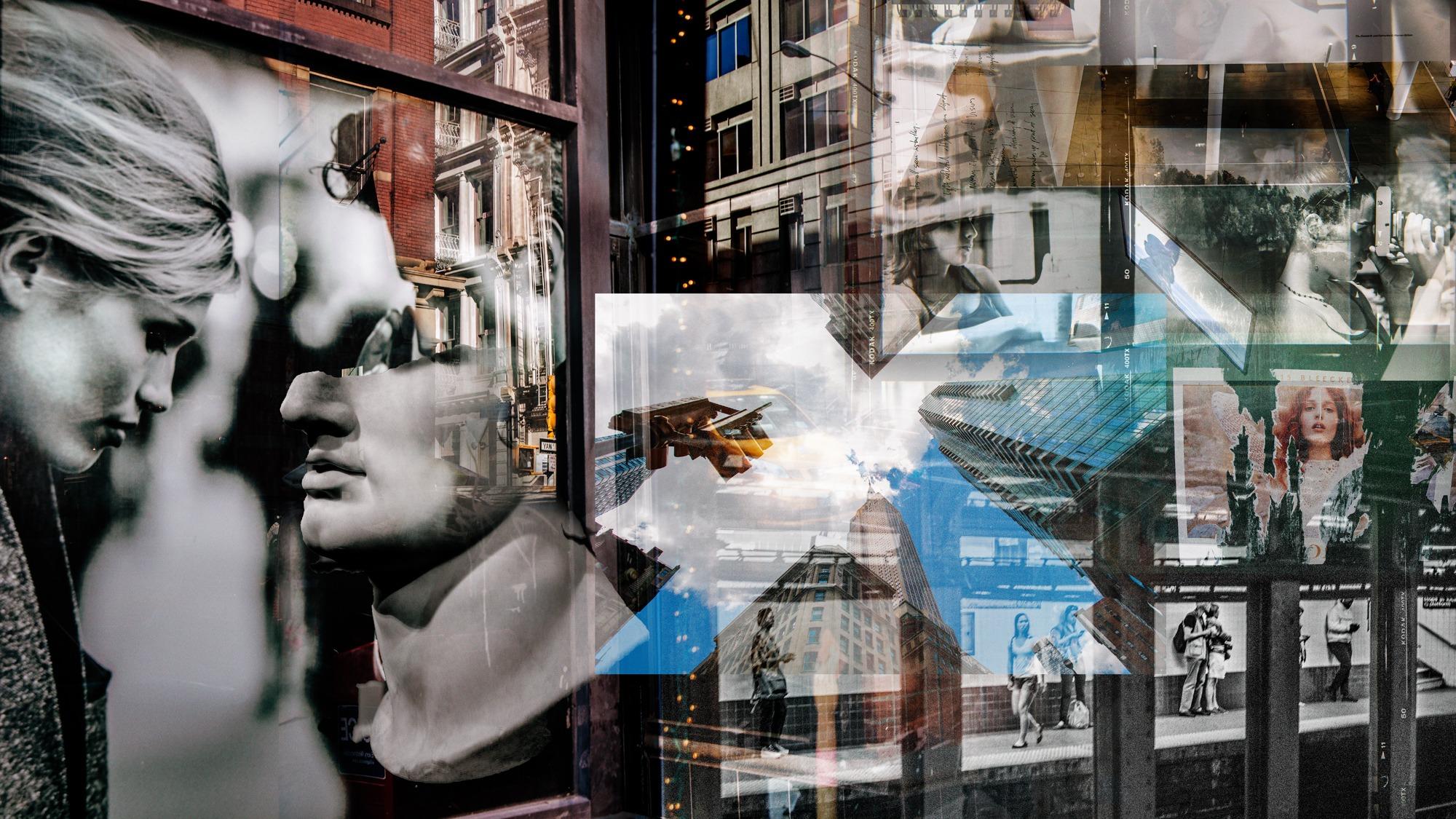 Re-Framed, Simon Blundell