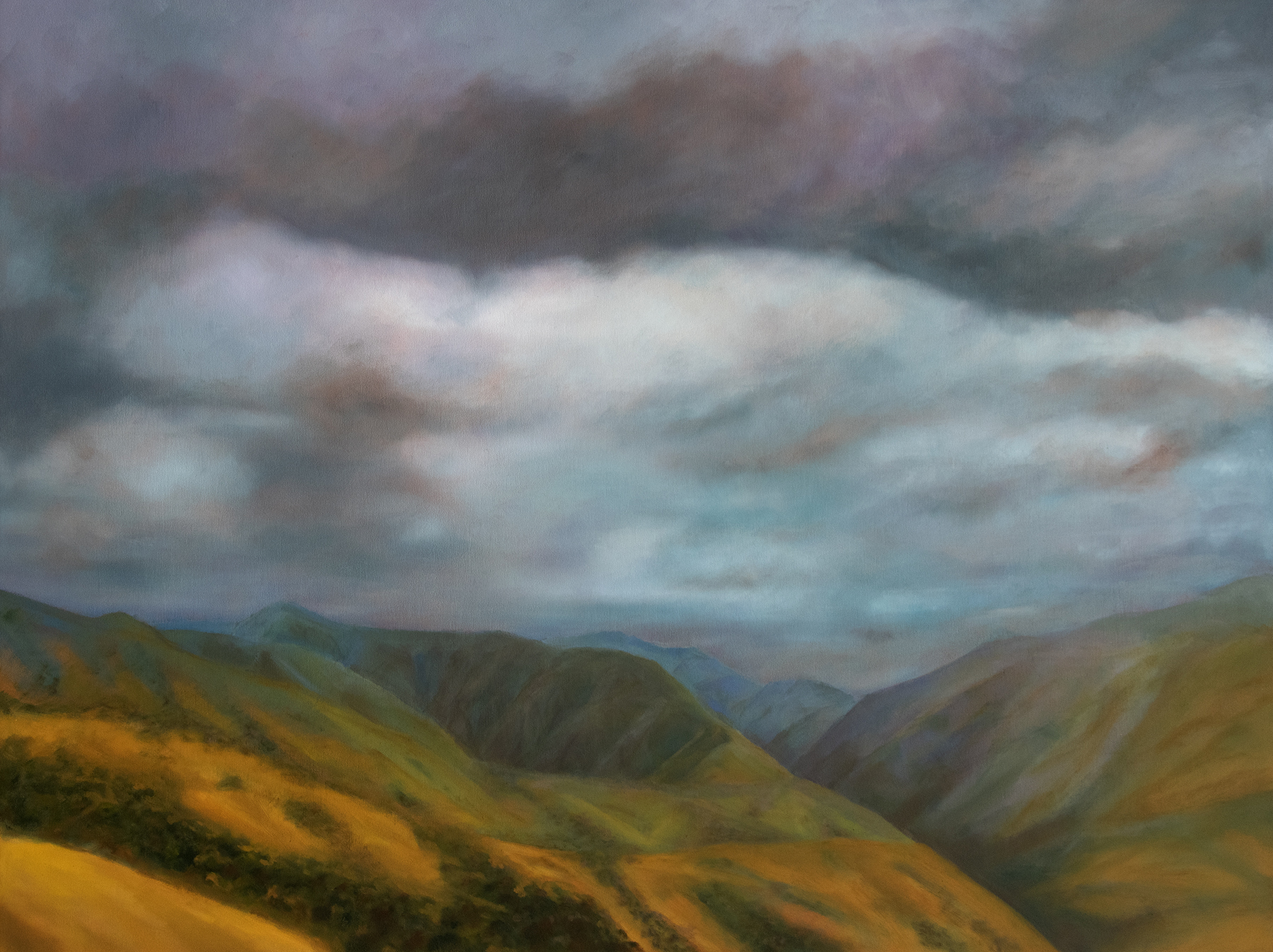 """Red Butte Canyon - Ed Archer, oil on panel, 30 x 40"""""""