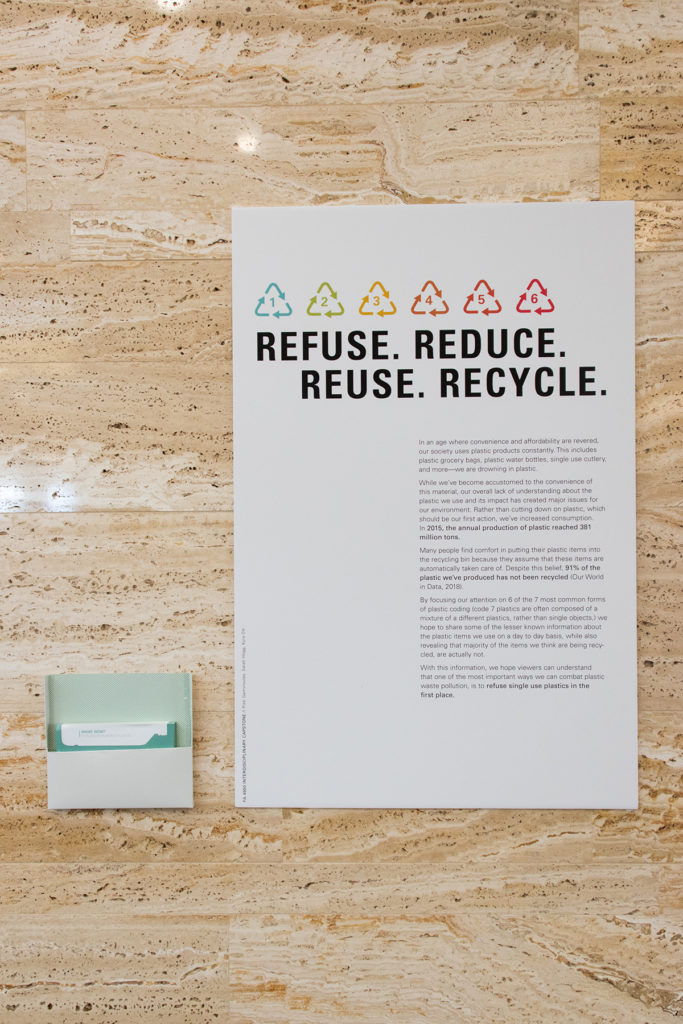 Refuse, Reduce, Recycle